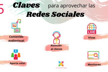 claves para aprovechar las redes sociales